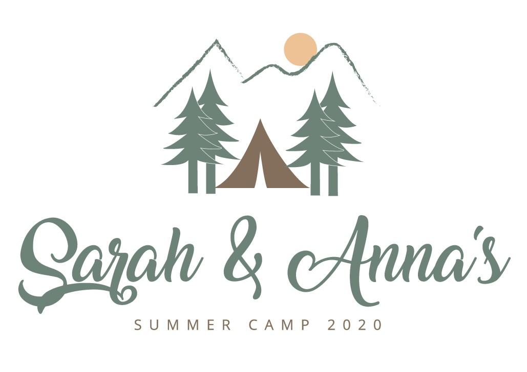 Summer Camp Wedding Logo