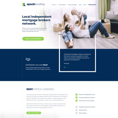 Corporate Mortgage Website