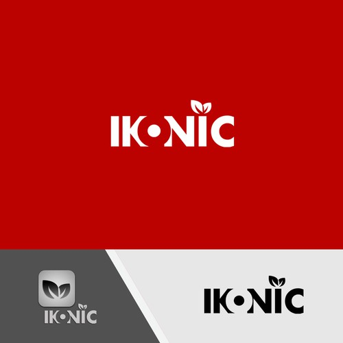 Create a new logo and card for Ikonic