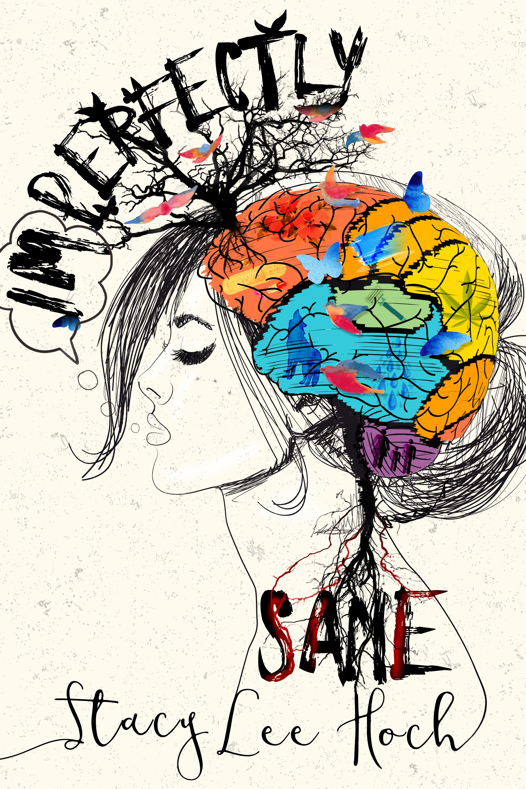 Imperfectly Sane needs an artists brain. Literally.