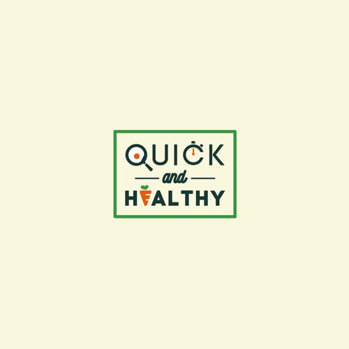 Logo for fast and healthy food email subscribe