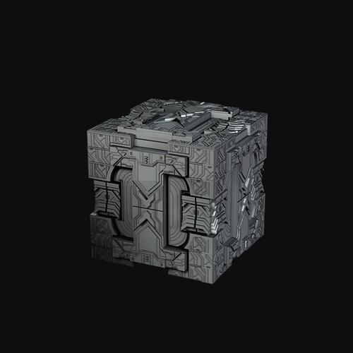 Futuristic Power Cube