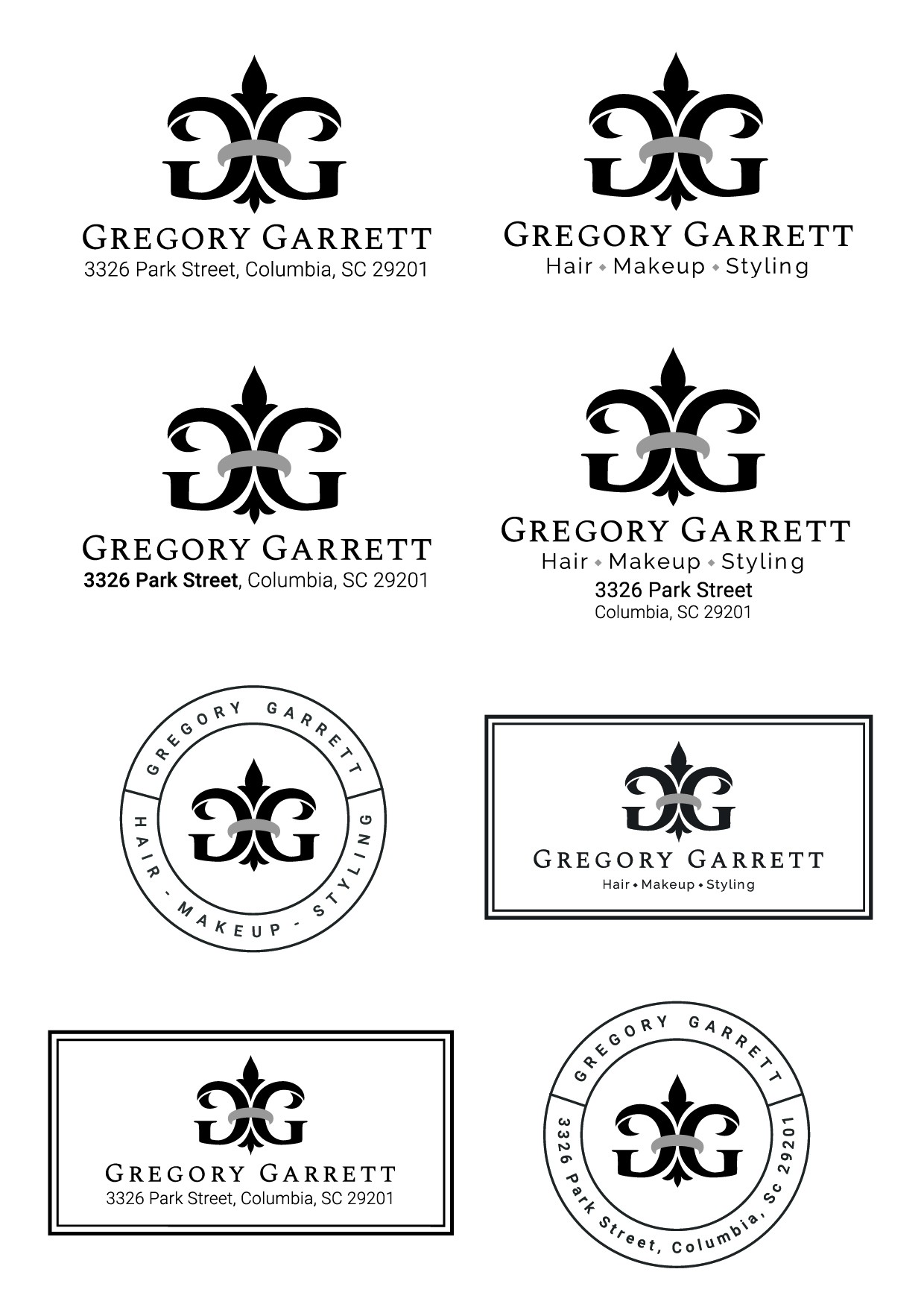Luxury Hair Stylist Needs a matching Logo that stands out!