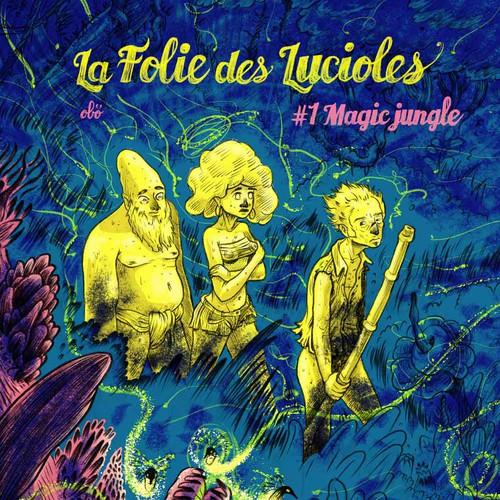 Manga cover of «La Folie des Lucioles»