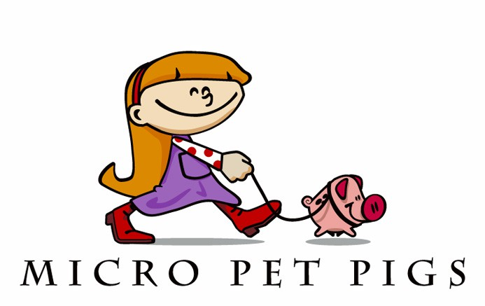 Create the next logo for Micro Pet Pigs