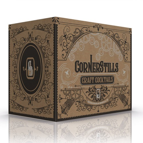Box Design for Alcoholic beverage