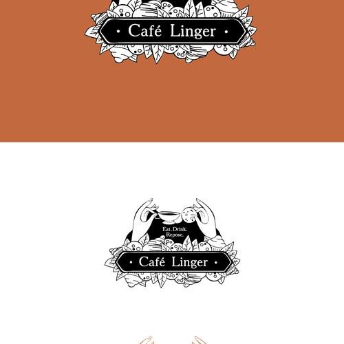 Logo concept for cafe