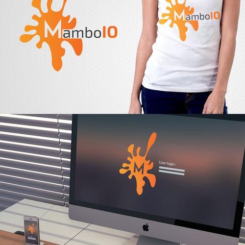 Create an entertaining logo for MamboIO