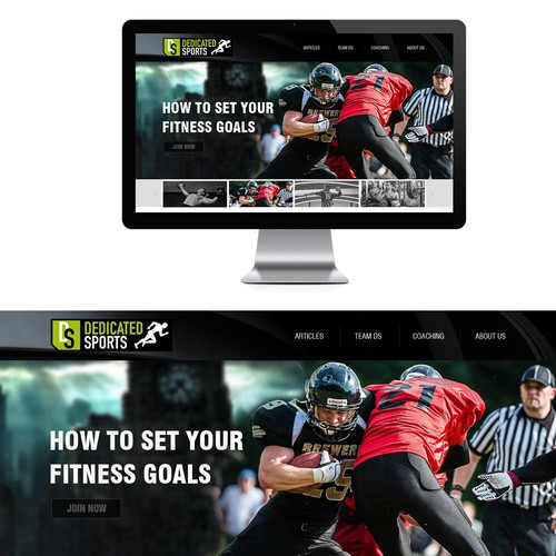 WordPress theme for Elite Sports