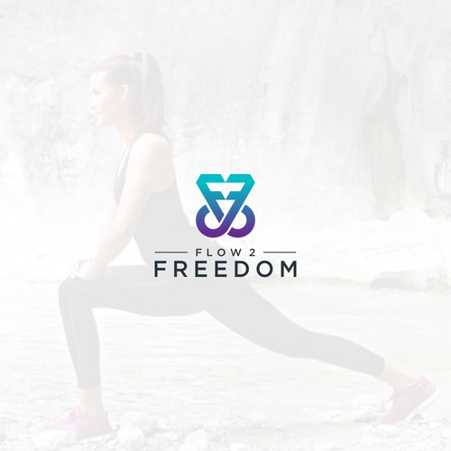 Flow 2 Freedom Logo Design