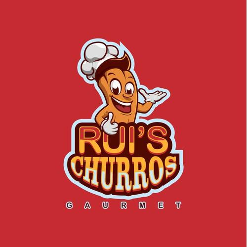 RUI'S CHURROS LOGO DESIGN