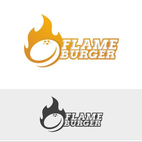 Flame Burger
