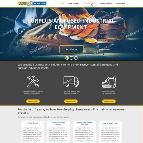 Web design for NRI