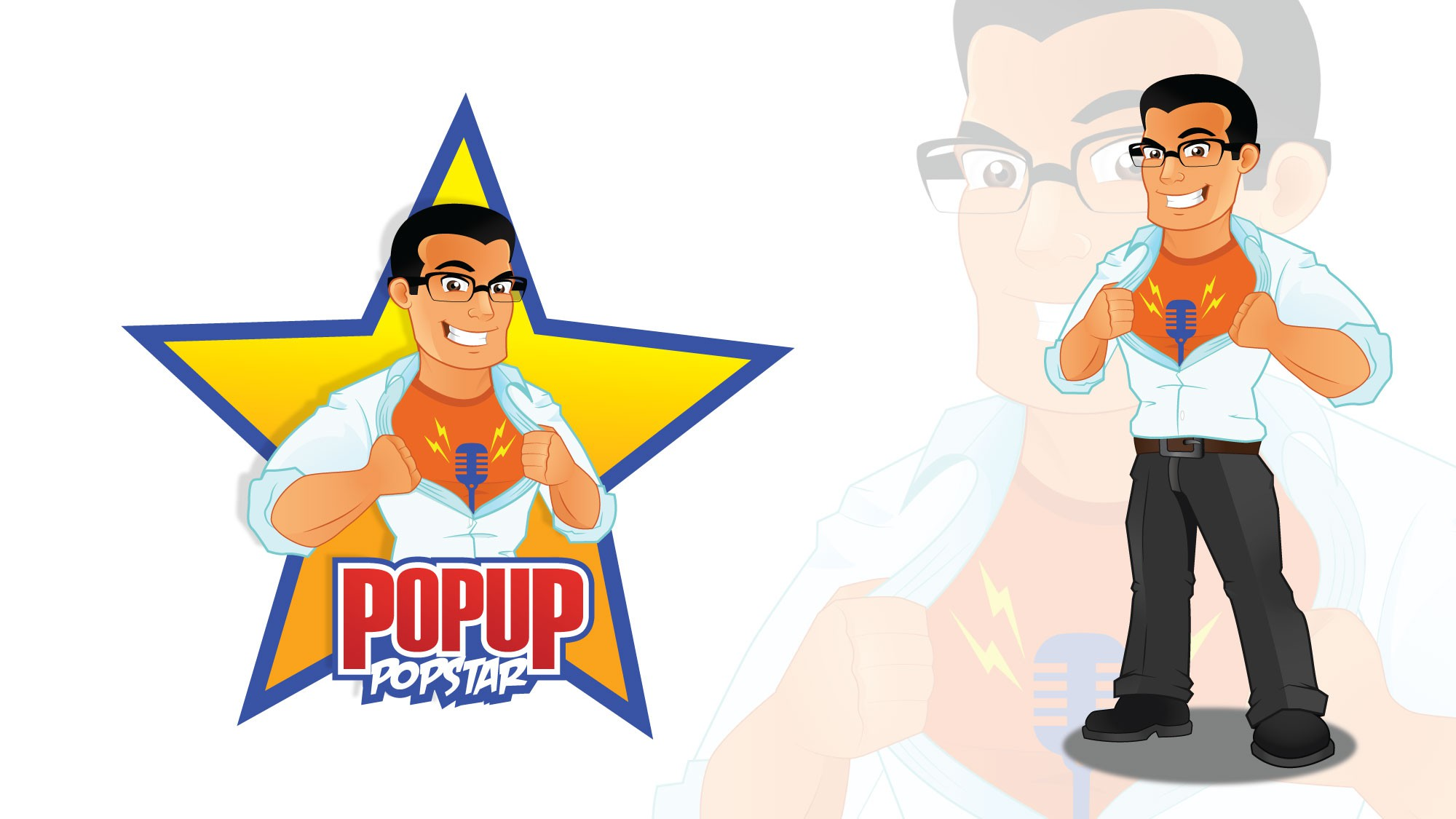 "Create winning logo design for YouTube Channel ""PopUp PopStar"""