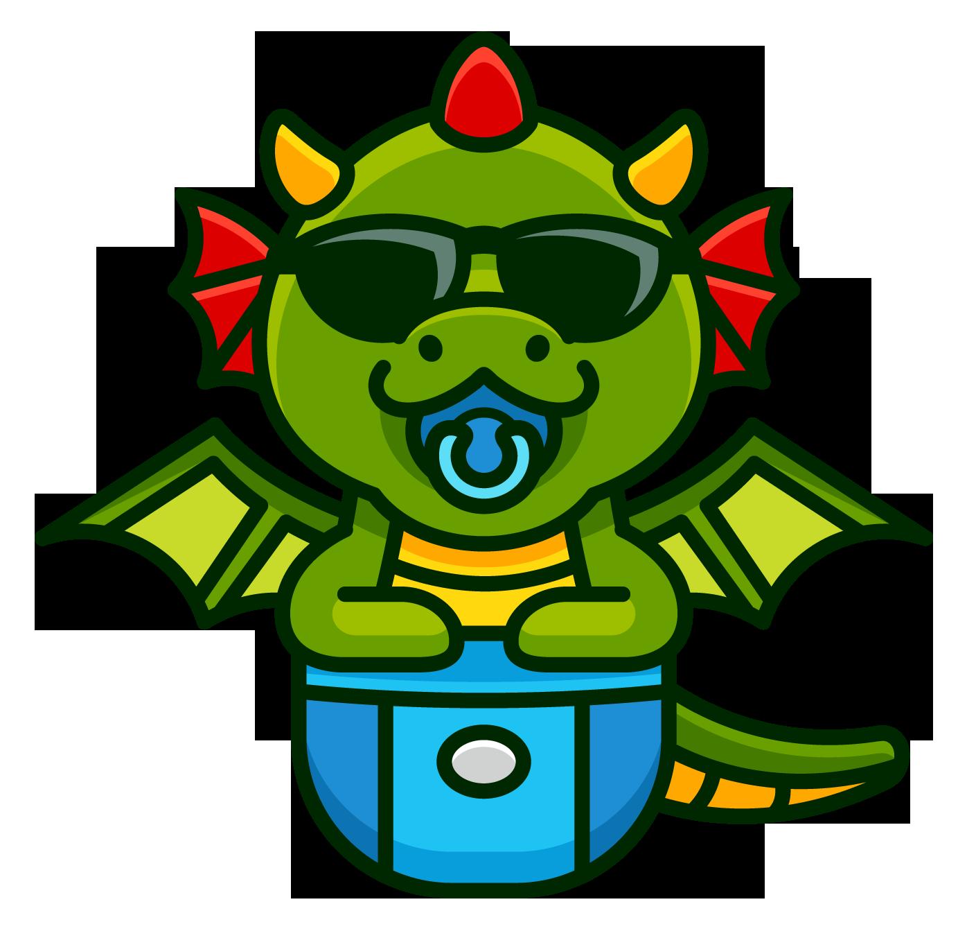 Baby Dragon Games Logo Design