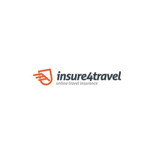 Create insure4travel logo