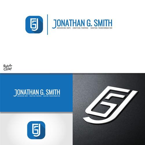 Bold logo for a Blog