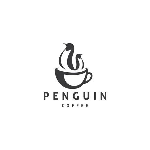 Penguin coffee