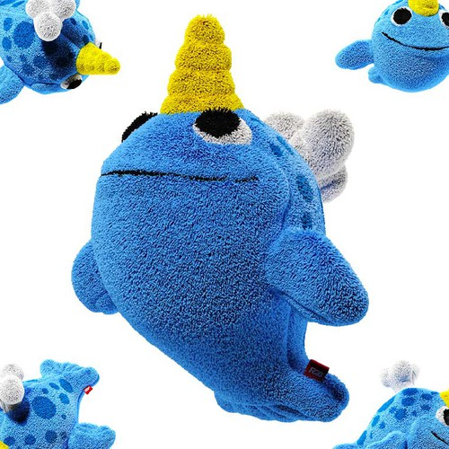 Narwhal toy design ;)