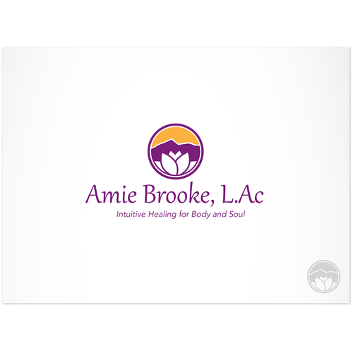 Help Amie Brooke, L.Ac with a new logo