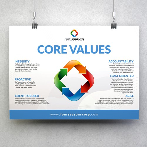 FourSeasons Core Values Campaign