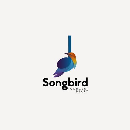 Logo for musical journaling platform