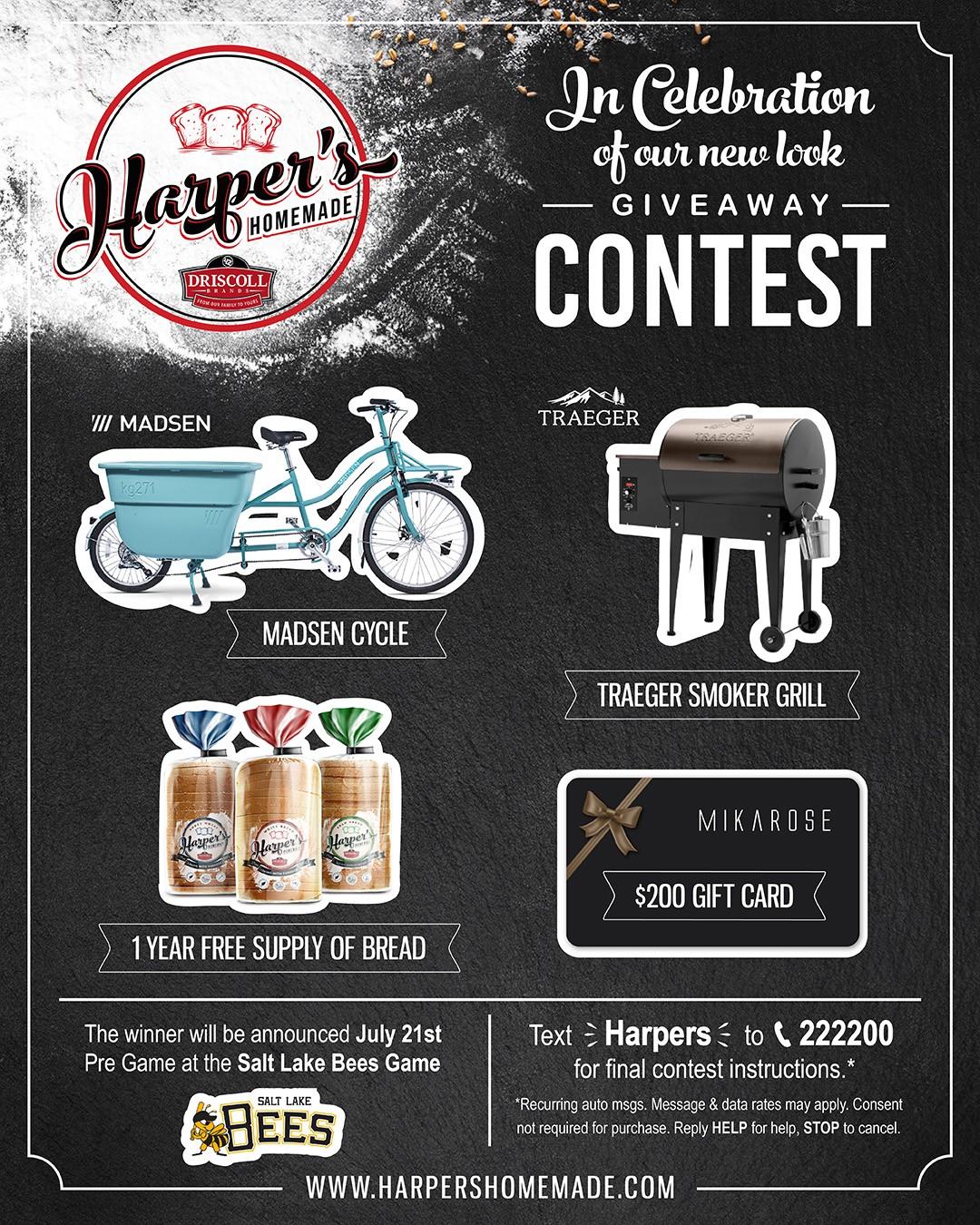 Contest Giveaway flyer Social Media