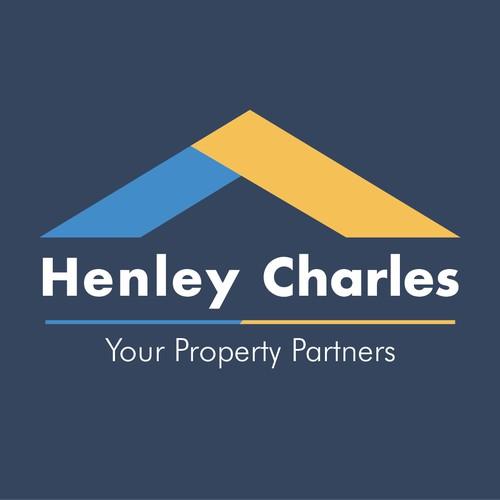 Henley Charles Logo Design