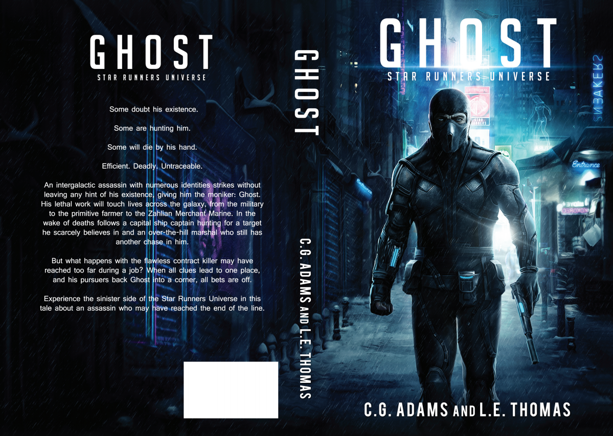 Ghost: A Star Runners Universe Novel