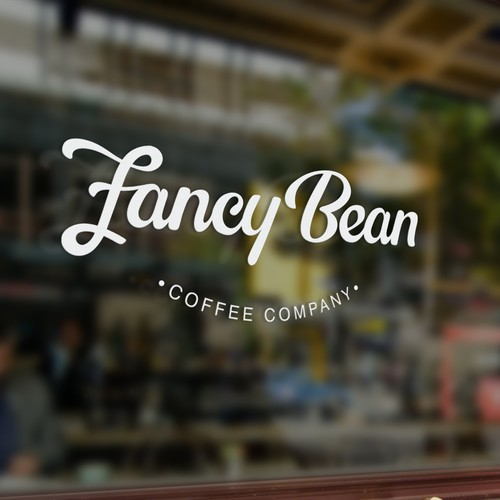 Logo concept for Fancy Bean Coffee Company