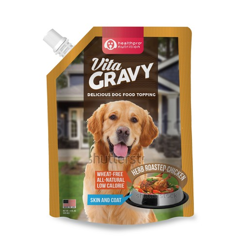 Label Design for Vita Gravy