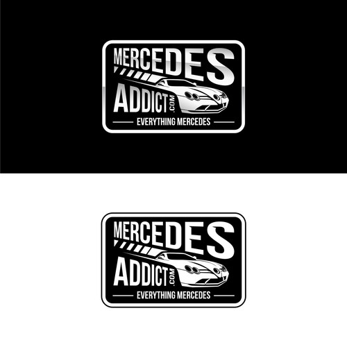 logo concept for mercedes addict