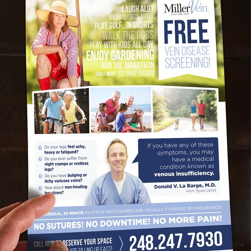 Flyer for MillerVein
