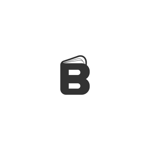 Simple and bold logo for BlackBook