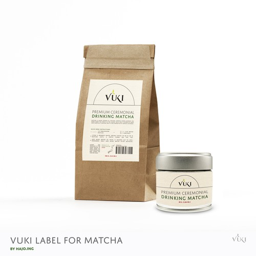 Label for MATCHA TEE