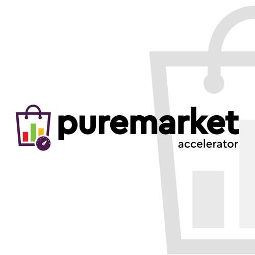 Logo concept for Puremarket
