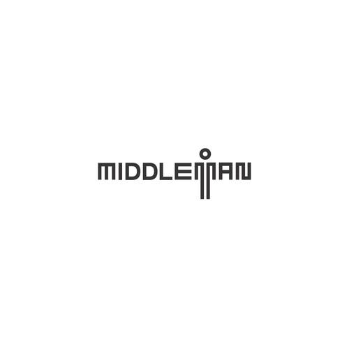 Logo concept for MiddleMan