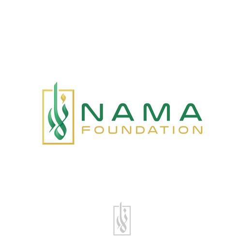 Logo concept for NAMA Foundation