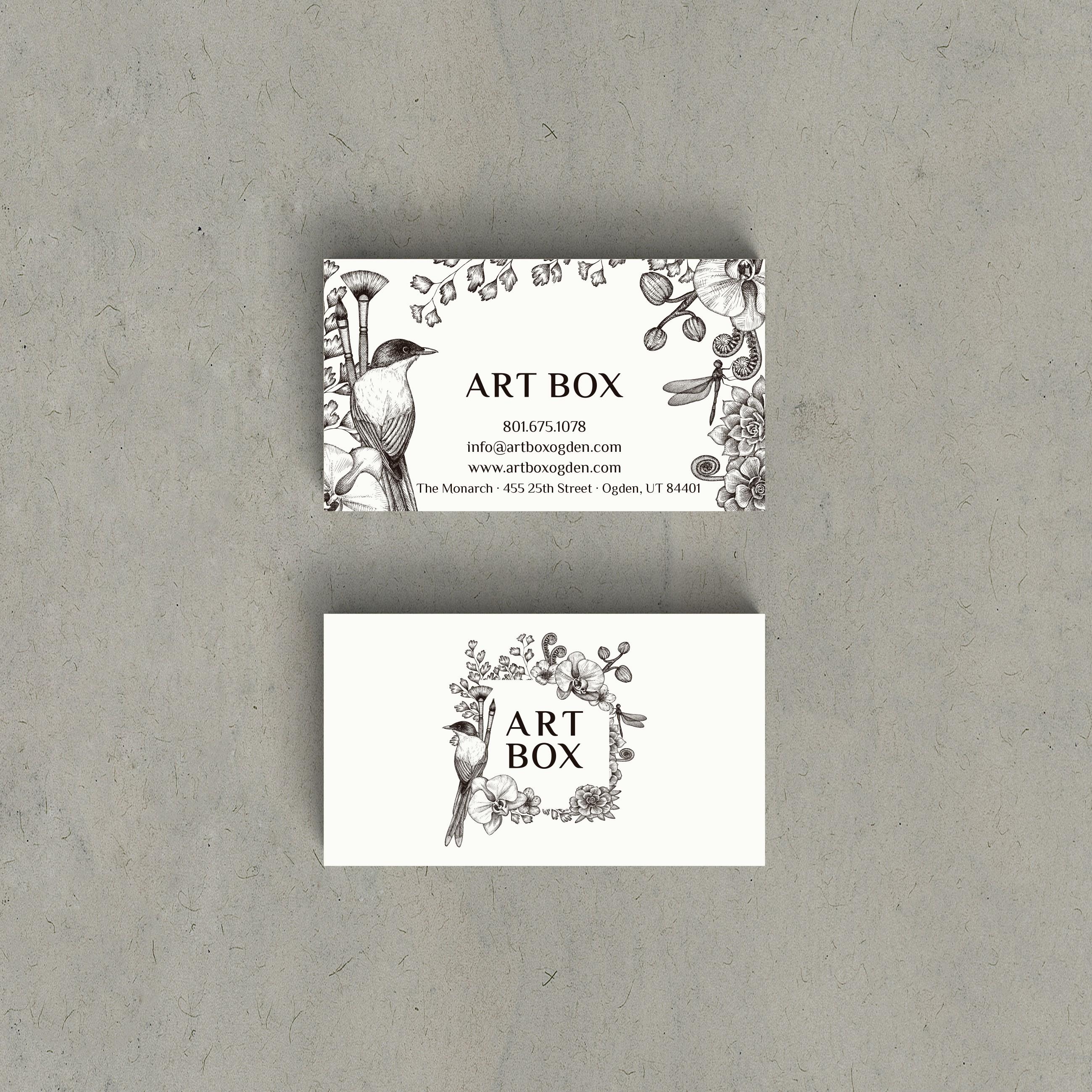 Art Box Shop Card Revision