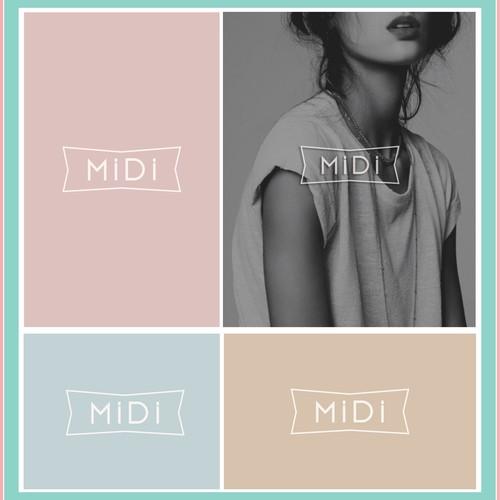 Midi Fashion Logo Design