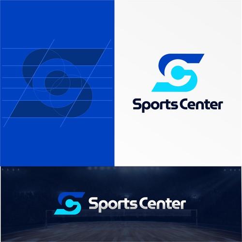 Sports Center Logo Design Concept