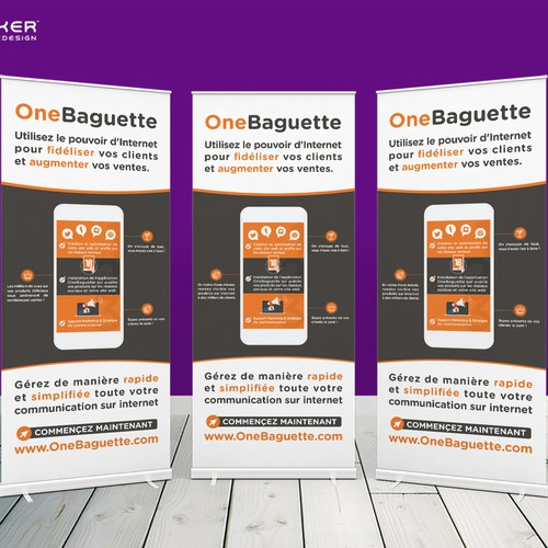 Rollerup for ONEBAGUETTE