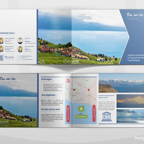 Vue sur lac brochure