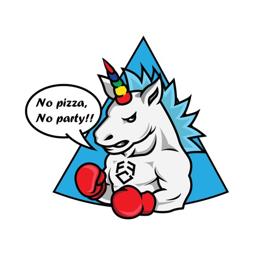 boxing unicorn