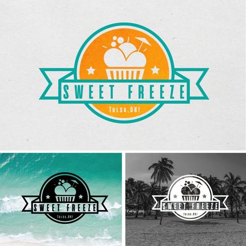 Logo for a Frozen Yoghurt company