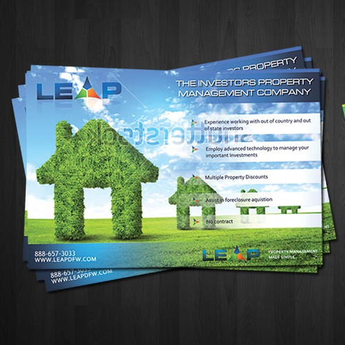 Property Management company flyer