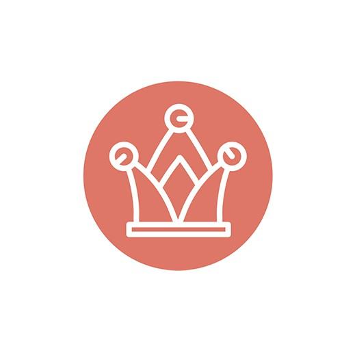 Jester hat logo design