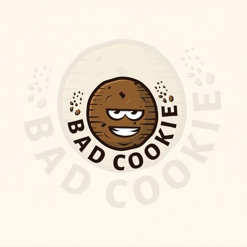 Crunchy cookie logo.