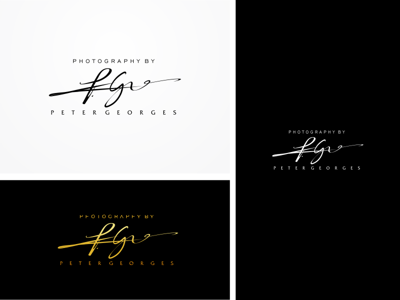 Create a Premium logo for Peter Georges Photography!