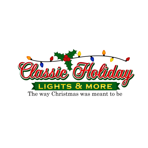 Classic Holiday Lights & More needs a new logo